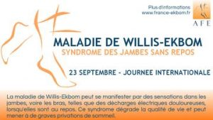 Journée internationale de la maladie de Willis-Ekbom