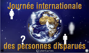 Journée Internationale des personnes disparues