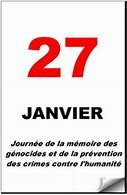 Journée de la mémoire de l'Holocauste et de la prévention des crimes contre l'humanité